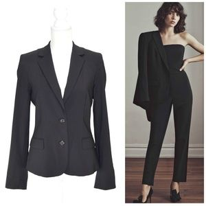 CLUB MONACO Classy Single-Breasted Wool Blazer